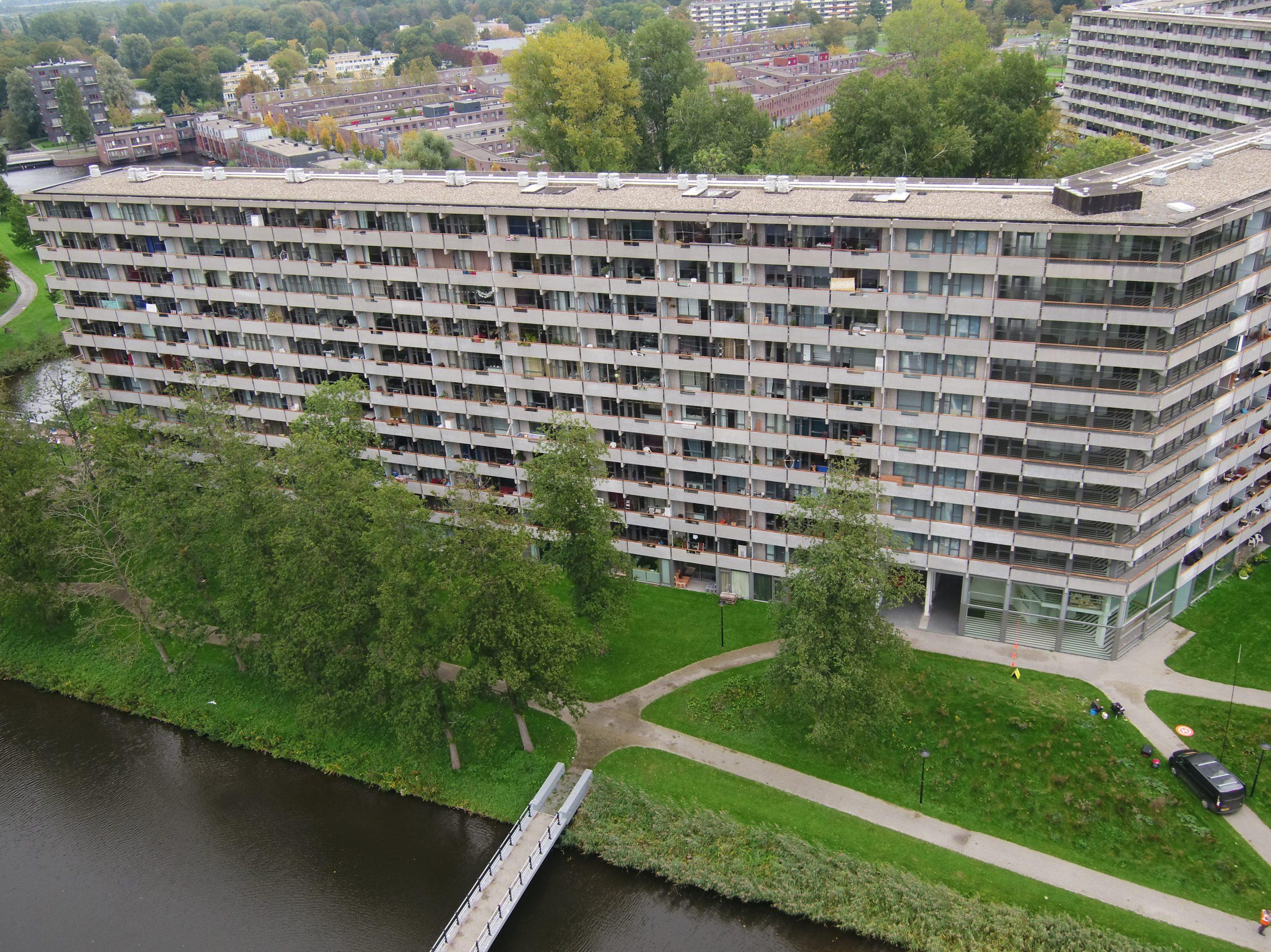 Drone foto Bijlmer