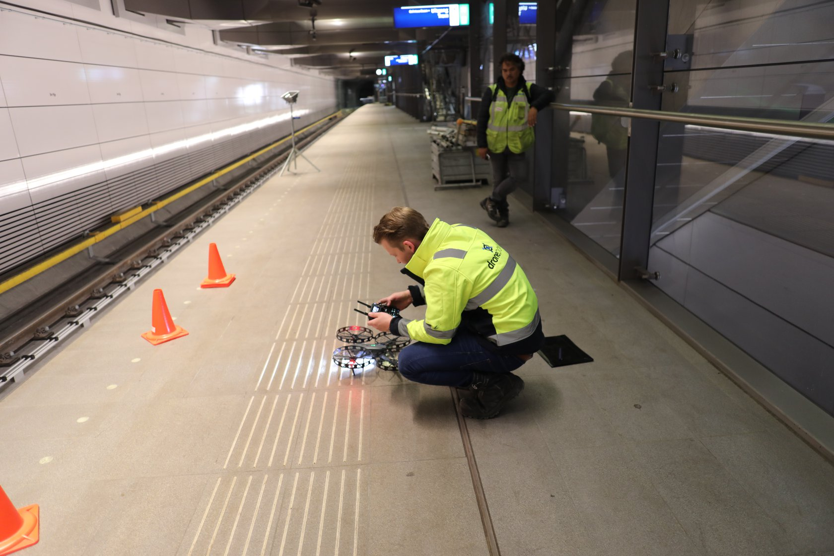 Foto Drone inspectie GVB